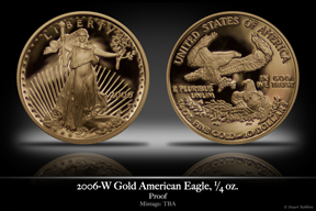 2006 Business-Strike 1/4 oz Gold American Eagle