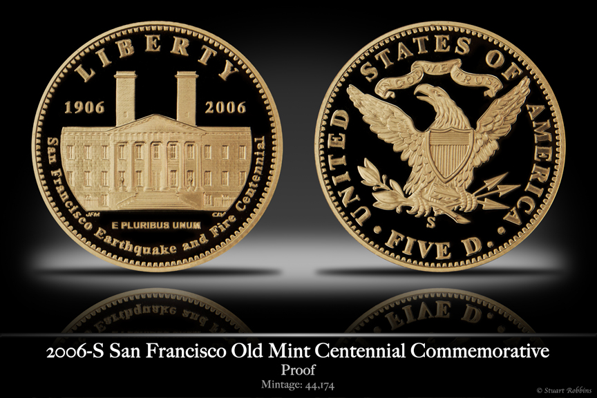 2006-S San Fransisco Mint Gold Proof Commemorative Coin