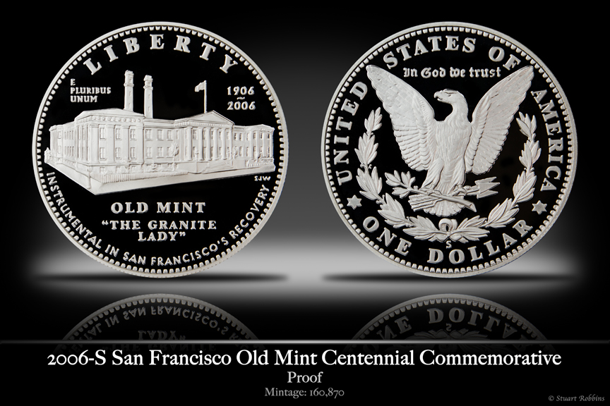 2006-S San Fransisco Mint Silver Proof Commemorative Coin