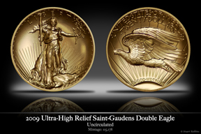 2009 Ultra-High Relief Saint-Gaudens Double Eagle